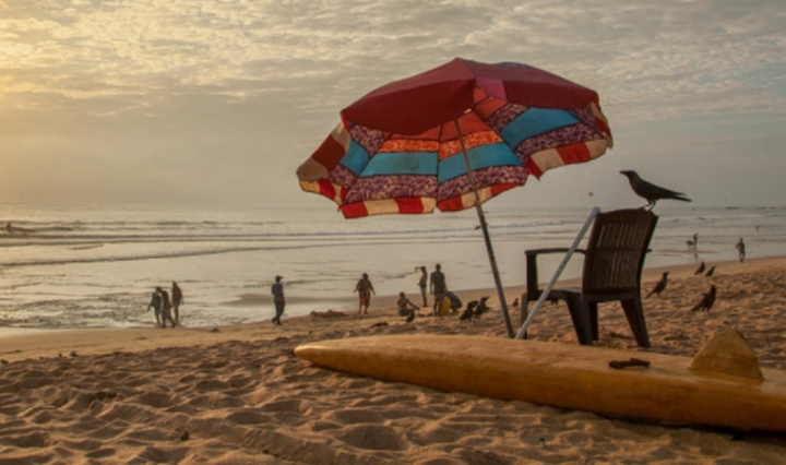 calangute beach best place to visit in goa