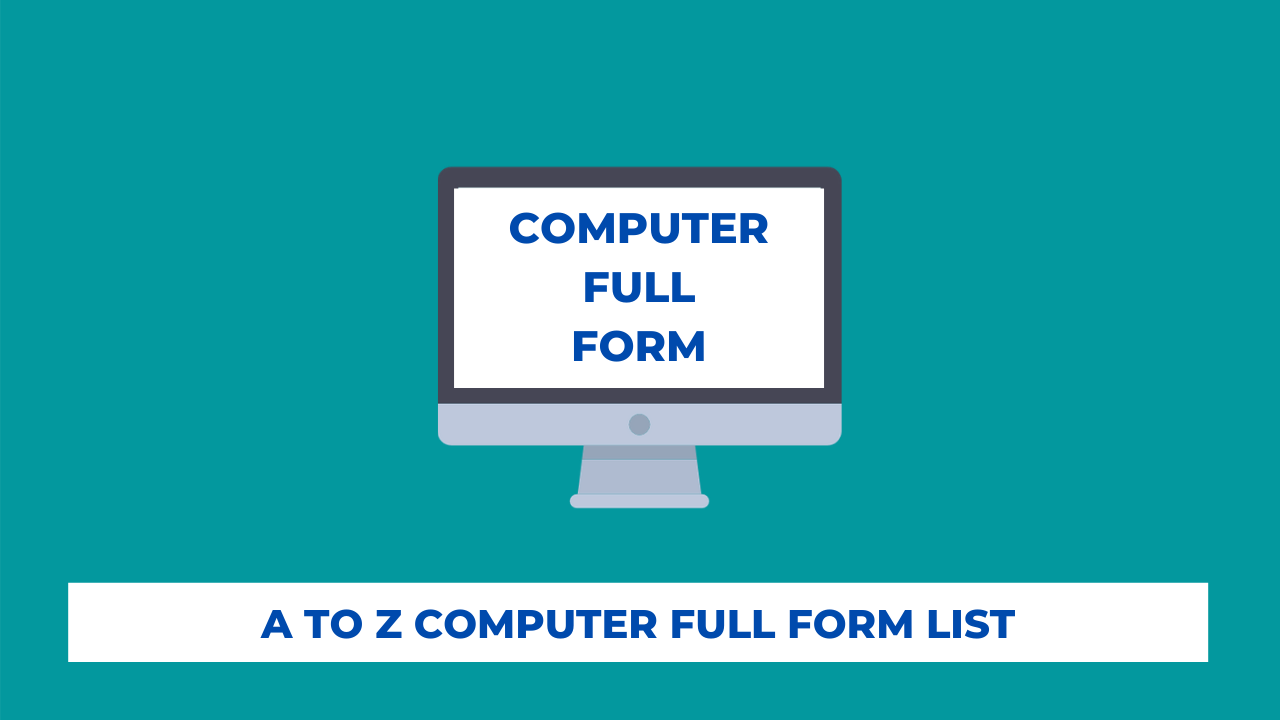 What is Computer Full Form