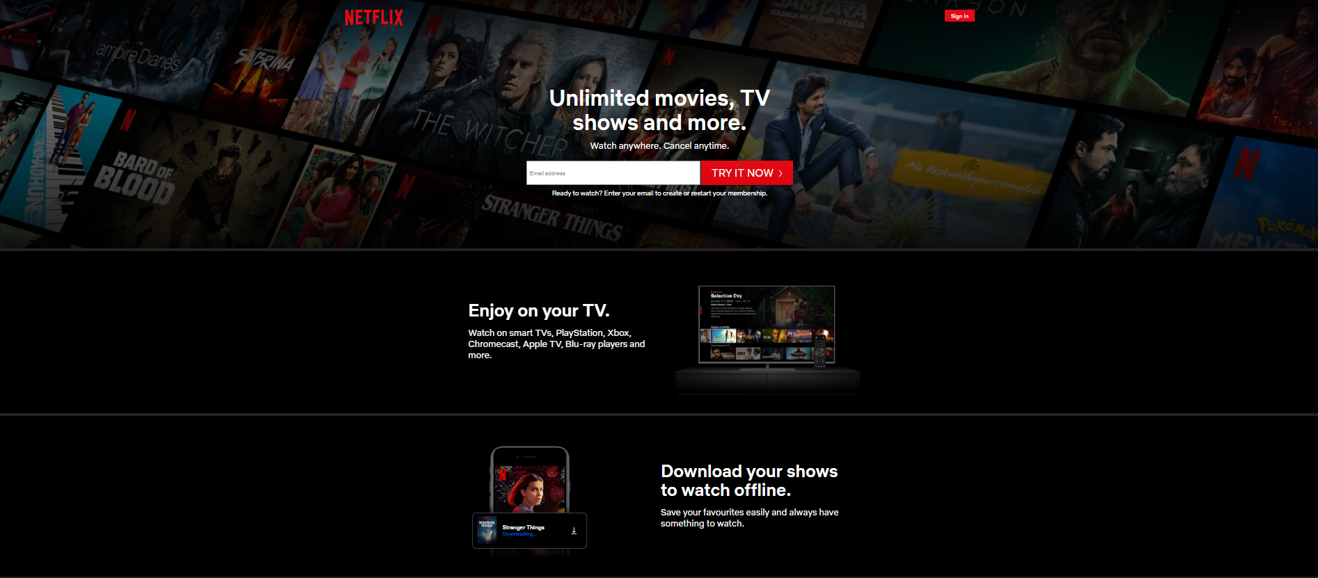 Netflix - Watch Bollywood Movies Online